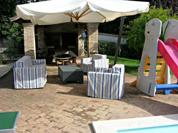 Villa vacanze in Umbria con piscina e gazebo