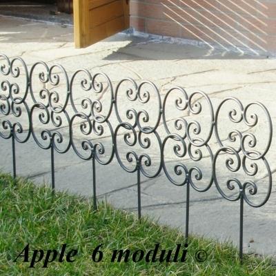 Ornamenti e decori da giardino per aiuole e fiori for Decorazioni in ferro per giardino