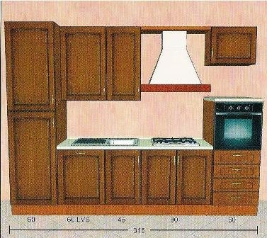 Cucine classiche componibili a prezzi bassissimi cucina for Cucine complete prezzi bassi