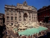 Vista panoramica della Fontana di Trevi