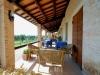 Colazioni gustose al sole in terrazzo