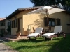 Equipped garden in apartments in Gubbio