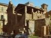 Ruini antici e palazzi storici in centro