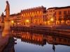 i canali di Padova, dormire a Padova
