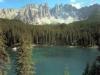 latemar lago di montagna