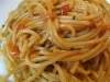 Sardinian cuisine: spaghetti with sea urchins