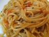 Sardinian cuisine: spaghetti with sea urchins