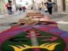 Flower carpets during the Sagra della Cipolla