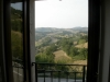 View of Assisi from the apartment