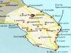 map over Salento