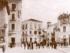 Immagine storica di piazza Carmine di Sulmona