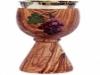 Calice in legno d'olivo, articoli per la Chiesa