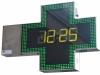 Croci per farmacia a led verdi con orario