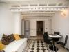 Pavimento e stile liberty in Suite in residenza di