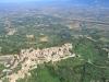 Montefalco foto aerea, posizione panoramica