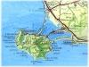 Mappa del territorio, hotel e B&B per dormire