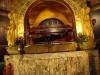 Saint Rita inside the Cascia Church