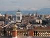 Vista panoramica su Roma