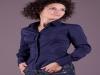 Camicia donna maniche lunghe modello slim