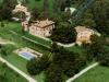 Agriturismo a Preggio, veduta aerea
