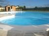 Big swimming pool in Country House Assisi