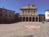 Piazza medievale di Montefalco
