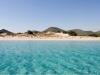 The chia-beach near cagliari