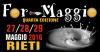 Rieti 12-14 Maggio - ForMaggio 2017 Rieti 5^ edizione dedicata alle aziende colpite dal sisma del Centro Italia