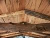 Soffitto pergola in tavole rovere