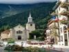 hotel a Chamonix in centro del paese