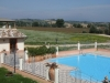 Panoramic view from the big swimming pool