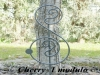 Decori in ferro battuto per giardino