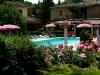 bar e veranda ristorante di fronte alla piscina