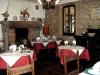 Sala ristorante con camino, cene romantiche