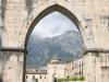 Scorcio del centro torico di Sulmona