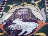 Particolare Cristo infiorata