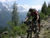 Mountain bike a Chamonix