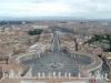 Vista su Roma da Città del Vaticano