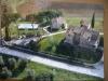 Aerial view of Villa Prestigio and Relax on the Trasimeno Lake