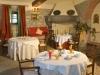 Sala ristorante esterna in Villa a Cortona
