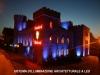 Illuminazione architetturale a LED con colori prog