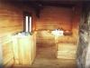 Interno sauna Baita Forlì