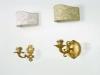 Applique classici in bronzo e tela