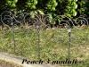Piccole recinzioni in ferro battuto